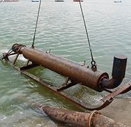 Polaganje i sanacija podmorskih ispusta, svih vrsta cevovoda i kablova